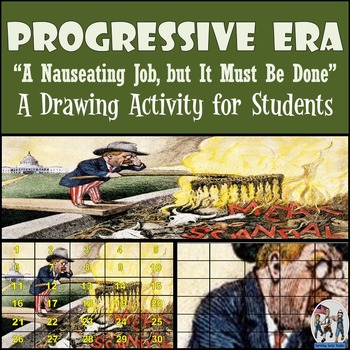"Progressive Era - Recreate ""A Nauseating Job, but It Must Be Done"" Cartoon"