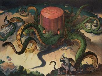 "Progressive Era - Recreating the Standard Oil ""Next!"" Political Cartoon"