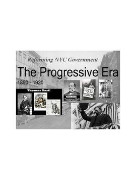 Progressive Era Reformers PowerPoint Project