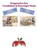 Progressive Era Reforms Vocabulary & Scavenger Hunt