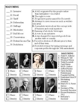 Progressive Era Test