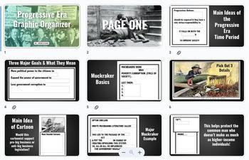 Progressive Era Graphic Organizer