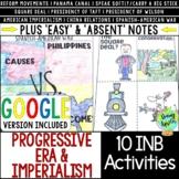 Progressive Era & US Imperialism Interactive Notebook, Dis