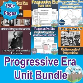 Progressive Era Unit Bundle (U.S. History)
