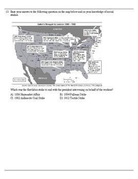 Progressive Era Unit Assessment