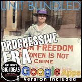 Progressive Era Unit: PPTs, Primary Source Lessons, Review