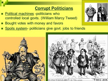 Progressive Era Unit PowerPoints