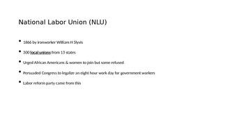 Progressive Era: Workers of the Nation Unite