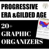 Progressive Era and Gilded Age Interactive Notebook 20+ Gr