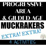 Progressive Era and Gilded Age Muckraker 4 Activities RECE