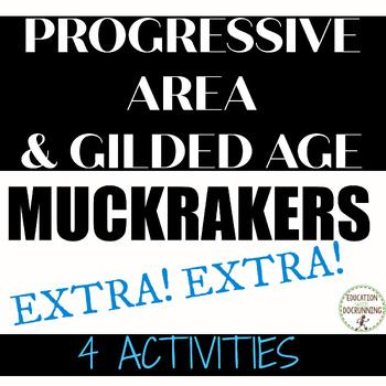 Progressive Era  Activity Muckraker Distance Learning