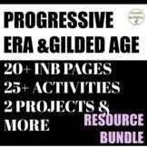 Progressive Era and Gilded Age Curriculum Unit Bundle UPDATED