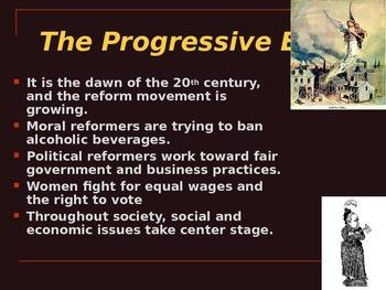 Progressive Era notes Part 1