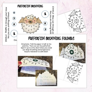 Progressive Muscle Relaxation Foldable Activities
