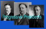 Progressive Presidents Matching Activity