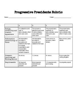 Progressive Presidents Project