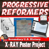 Progressive Leaders X-Ray Poster Industrial Revolution Print & Digit