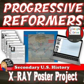 Progressive Leaders X-Ray Poster Industrial Revolution Print & Digit