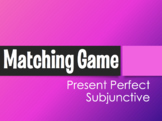 Spanish Present Perfect Subjunctive Matching Game