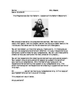 Progressive Speech - Rally Project