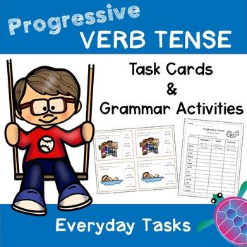 Progressive Verb Tense - Everyday Tasks