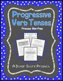 Progressive Verb Tense Practice Pack