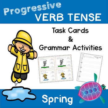 Progressive Verb Tense - Spring