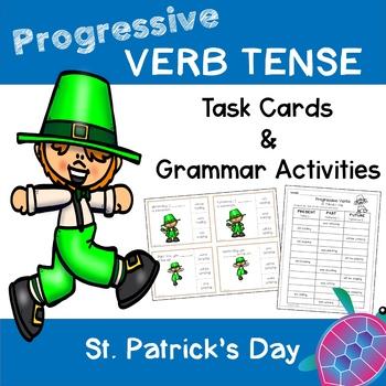 Progressive Verb Tense - St. Patrick's Day