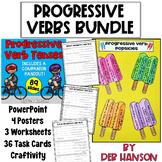 Progressive Verb Tenses Bundle