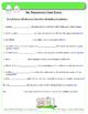 Progressive Verb Tenses - Common Core L.4.1b