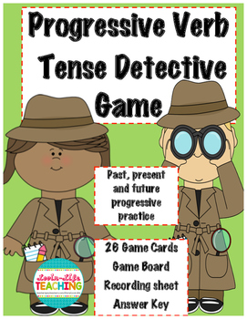 Progressive Verb Tenses Game