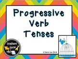 Progressive Verb Tenses Mini Bundle