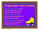 Progressive Verb Tenses quiz-quiz-trade activity