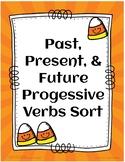 Fall Progressive Verb Word Sort