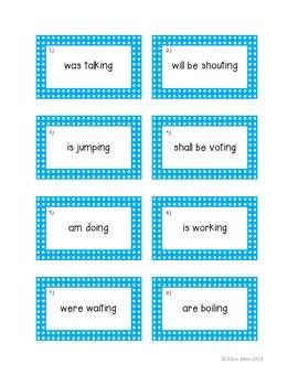 Progressive Verbs:  A Complete Lesson