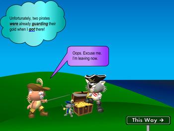 Progressive Verbs: Interactive Show on all Progressive Verbs (with Assessment)