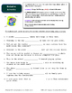Fourth Grade Grammar Packet and Posters - L.4.1 a-g