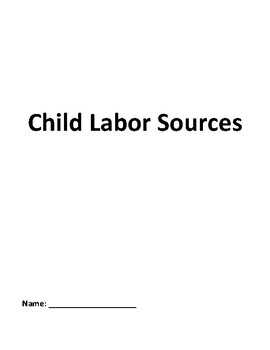 Progressives Child Labor Lewis Hine John Spargo