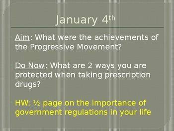 Progressives Part 2 PowerPoint