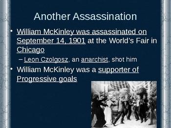 The Progressive Era - Progressives in the White House PowerPoint