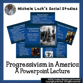 Progressivism Powerpoint Lecture Notes