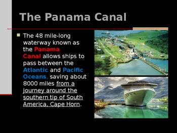 Progressivism - The Panama Canal Today