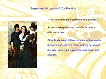 Progymnasmata: The Narrative - Powerpoint