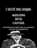 Prohibition & Al Capone's Thesis: Common Core & Research Based Lesson