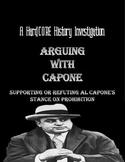 Prohibition & Al Capone's Thesis: Common Core & Research B