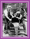 Prohibition, Bootlegging, Speakeasies, and Al Capone