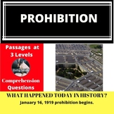 Prohibition Differentiated Reading Passage January 16