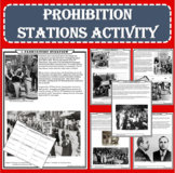 Prohibition Stations Activity (Print and Google Docs Formats)