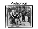 Prohibition Warm Up / Bellringer