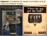 Prohibition and the 18th and 21st Amendments PowerPoint Pr